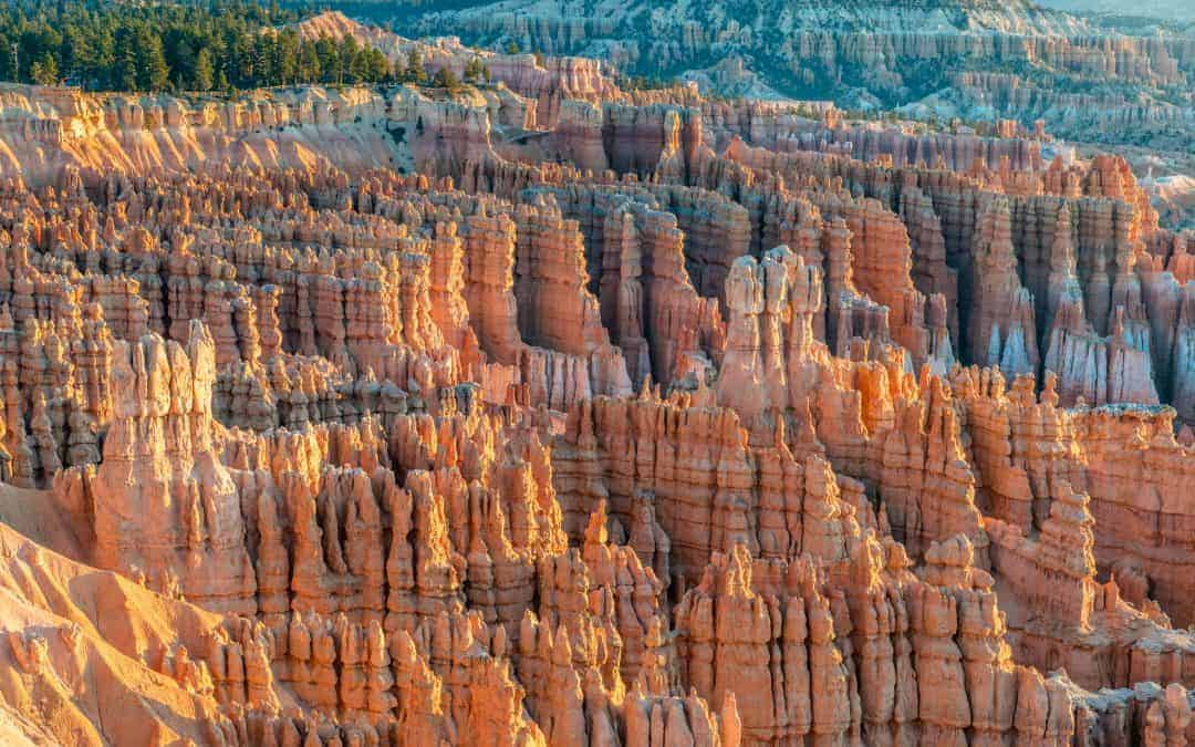 bryce canyon hoodoos in the fall