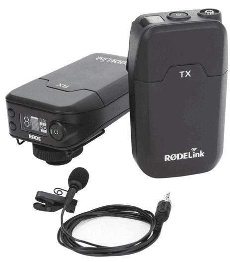 Rode filmmaker wireless lav mic