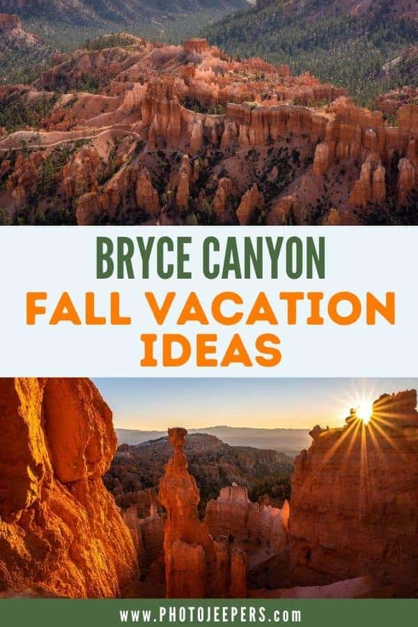 bryce canyon fall vacation ideas