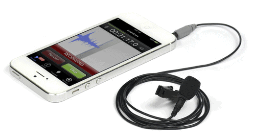 clip on mic for smartphones