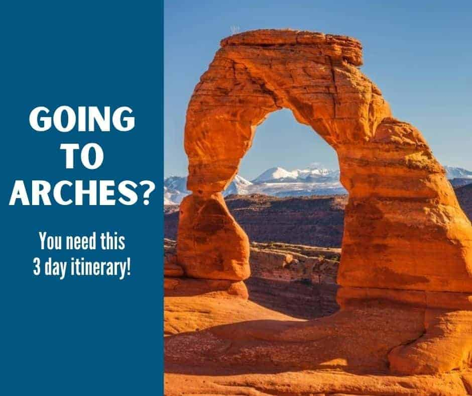 going to arches?