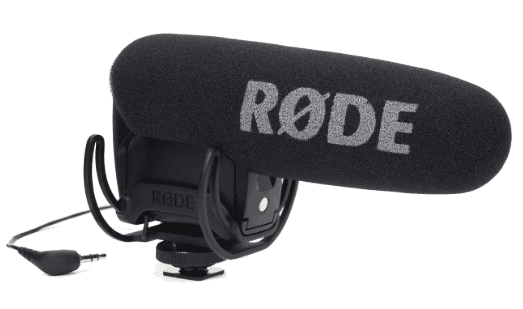 Rode videomic pro with lyre