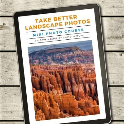 Take better landscape photos