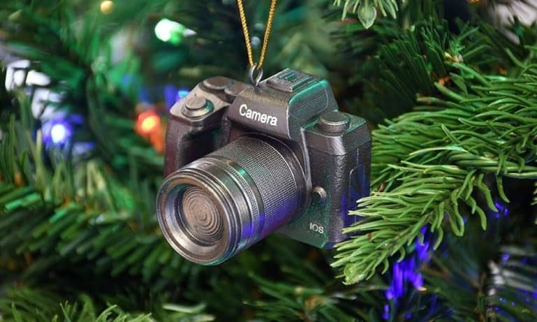Camera Christmas Ornaments to Display on Your Tree