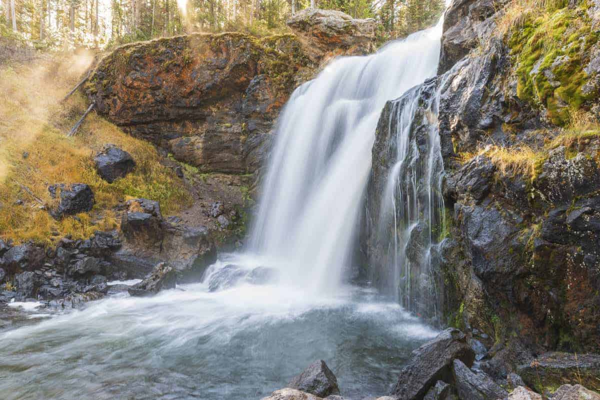 Moose Falls at Yellowstone