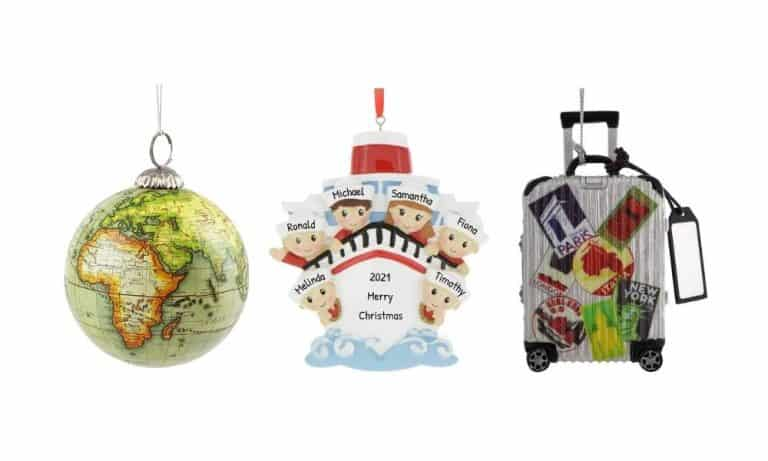 Vacation Christmas Ornaments to Relive the Memories
