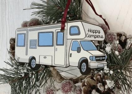 RV Christmas Ornaments as Travel Keepsakes