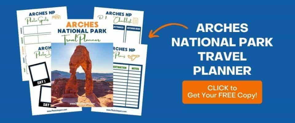 Arches NP Travel Planner