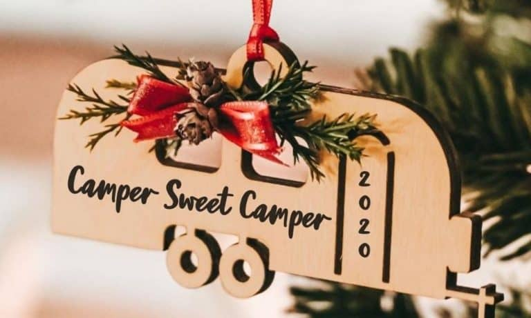 Camper Christmas Ornaments are Fun Stocking Stuffers