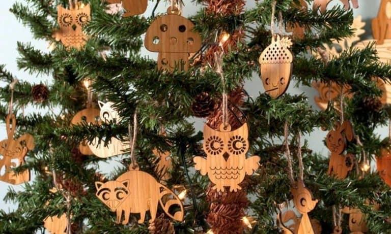 Nature Themed Christmas Ornaments as Travel Keepsakes