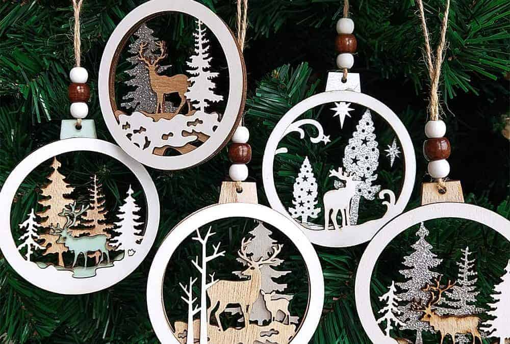 outdoor themed ornaments