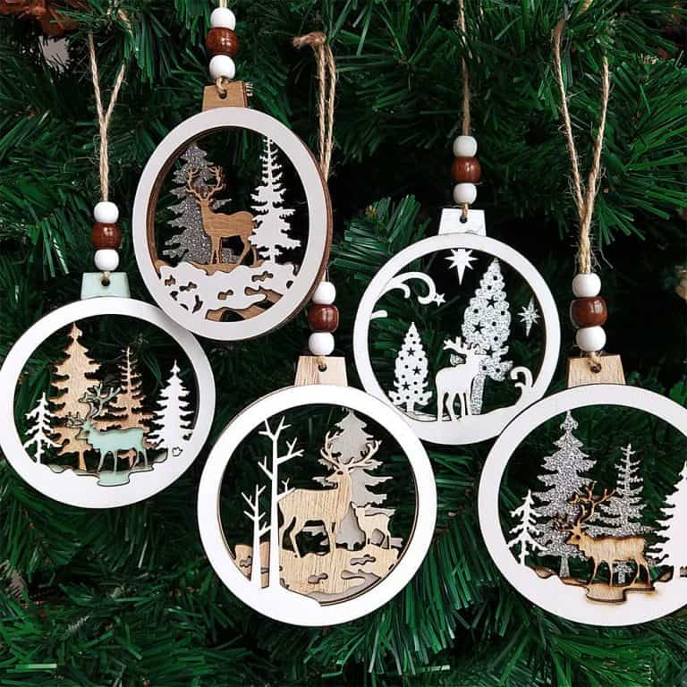 Outdoor Themed Christmas Ornaments to Remember Fun Adventures