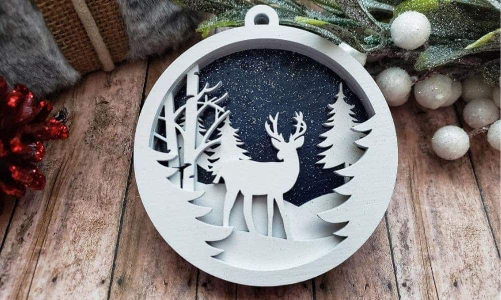 wildlife Christmas ornament