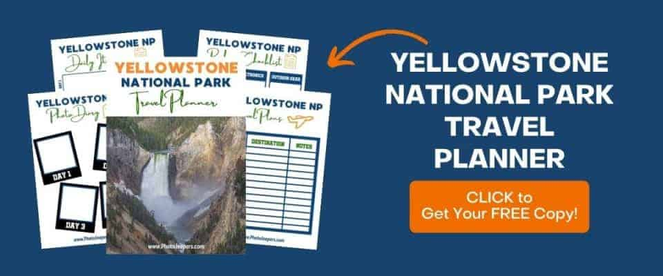 Yellowstone NP Travel Planner by Photo Jeepers