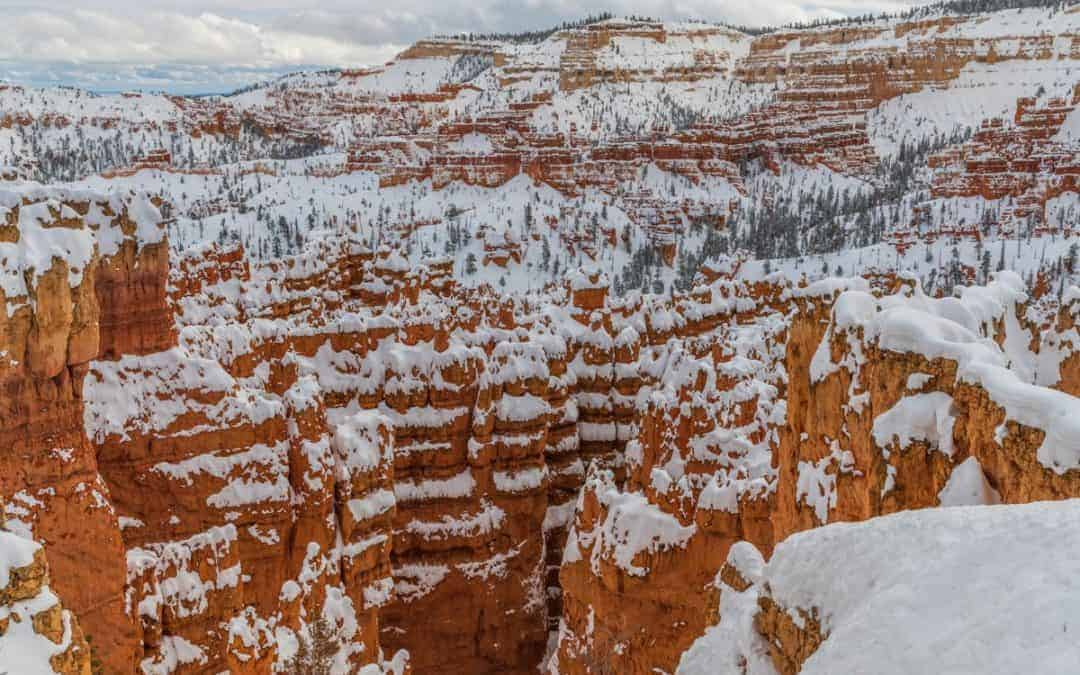 Bryce Canyon National Park in the winter