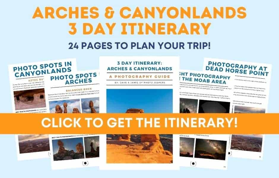 Arches & Canyonlands 3 Day Itinerary