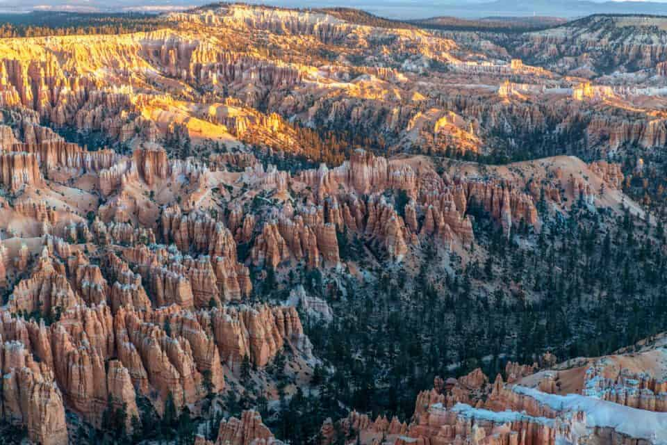 Bryce Point overlook at Bryce Canyon