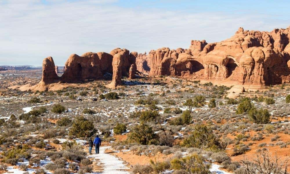 Visiting Arches National Park in February