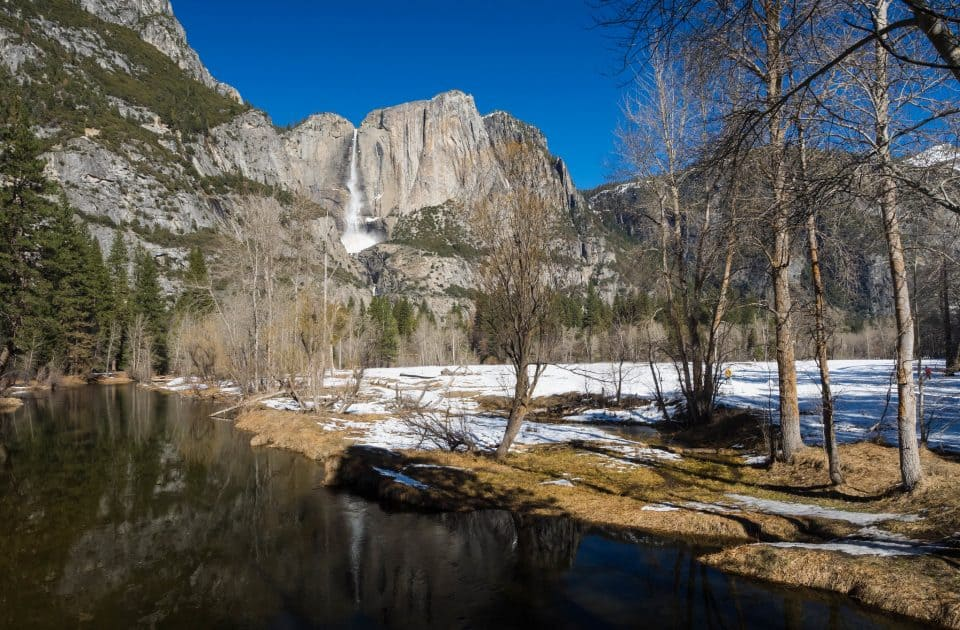 Yosemite National Park in March