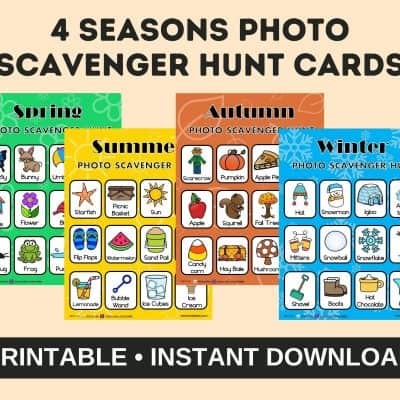 Photography Games and Printables