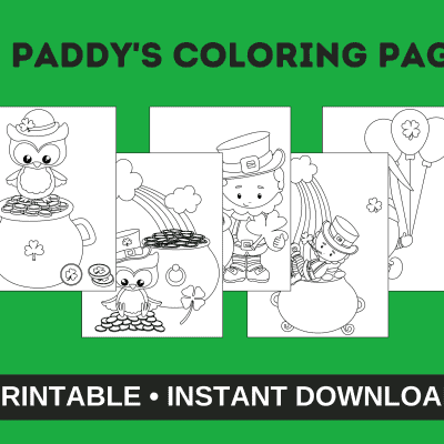 St Paddy's coloring pages Photo Jeepers