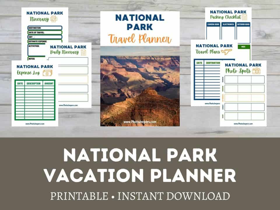 national park vacation planner