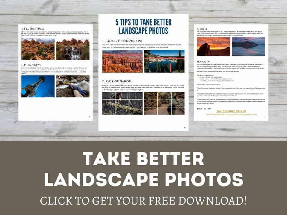 take better landscape photos free download