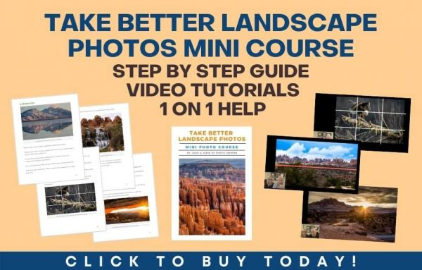 Take better landscape photos mini course