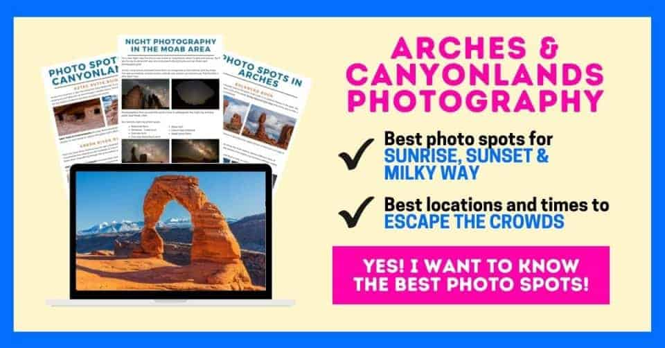 arches and canyonlands itinerary optin