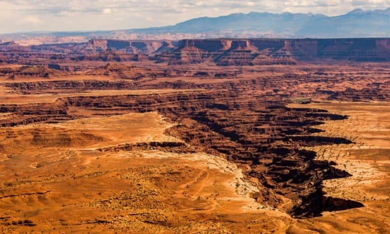 Canyonlands Island in the Sky Scenic Drive