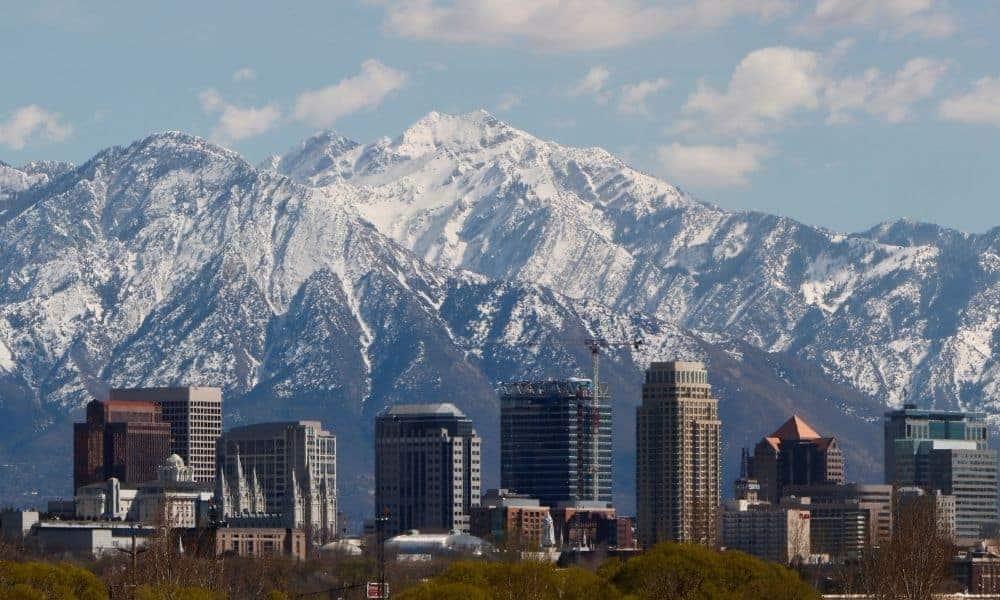 Salt Lake City skyline coolest hotels in Utah