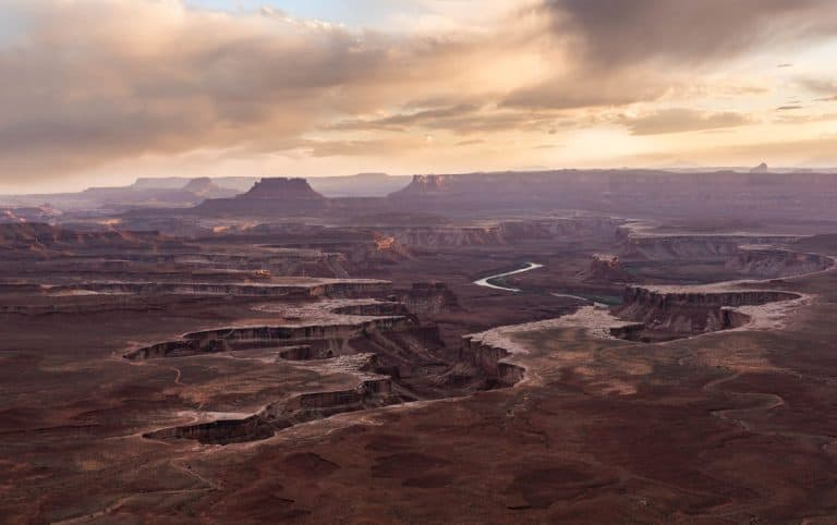 Canyonlands National Park in the Spring