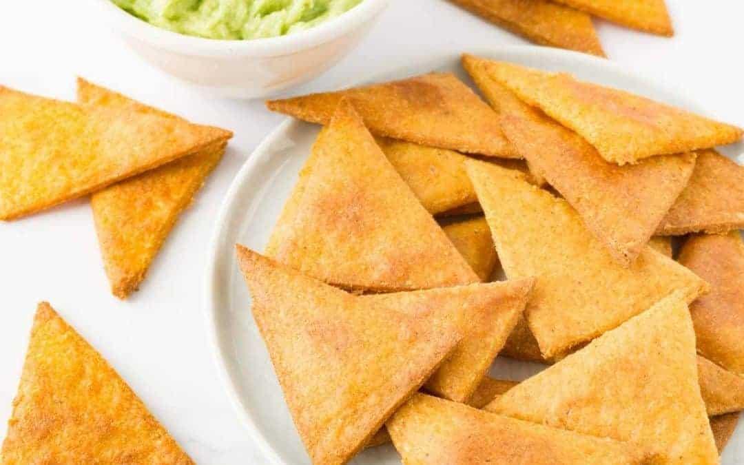 gluten free snack: keto tortilla chips