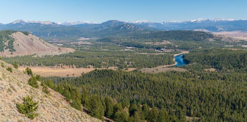 Signal Mountain view Grand Teton National Park