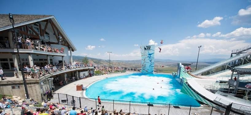 Freestyle show Park City Utah summer attraction