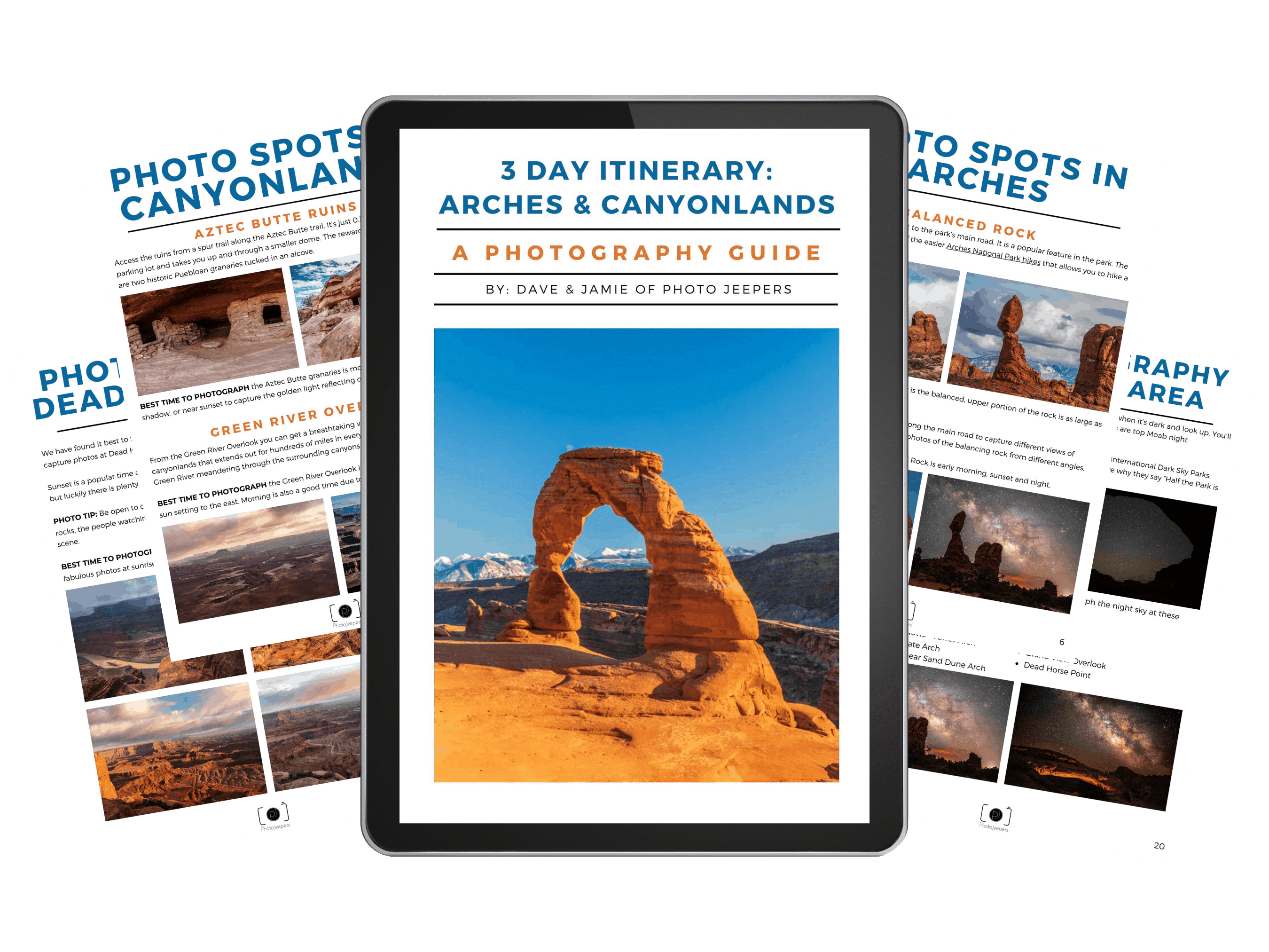 Arches Canyonlands planner