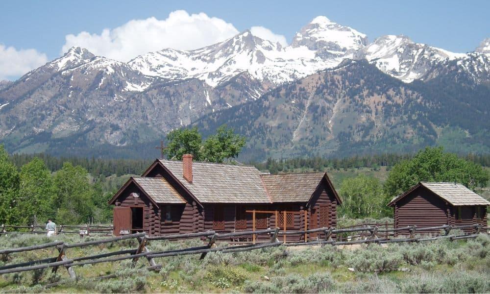cabins at Grand Teton