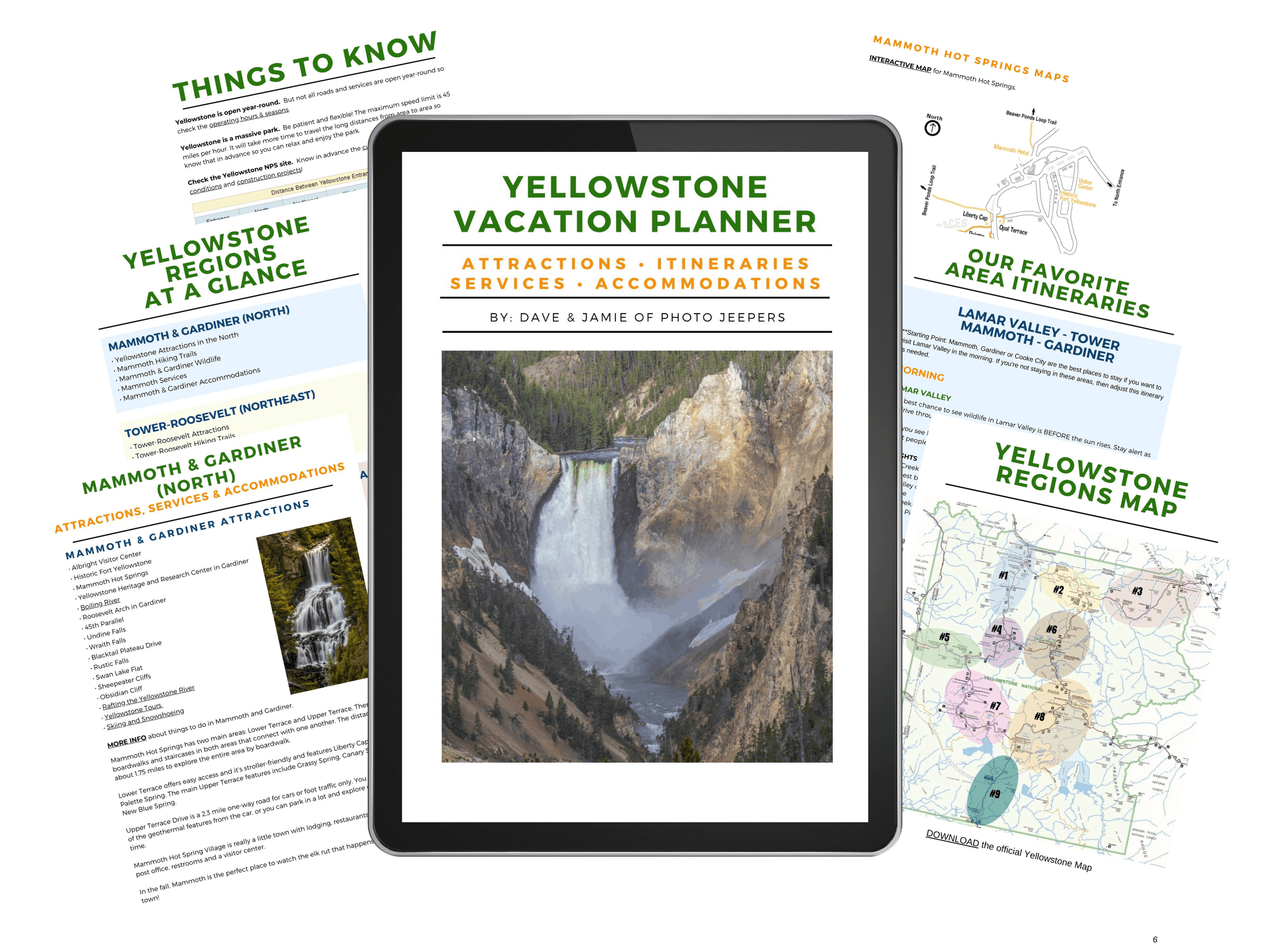 Yellowstone Planner Guide