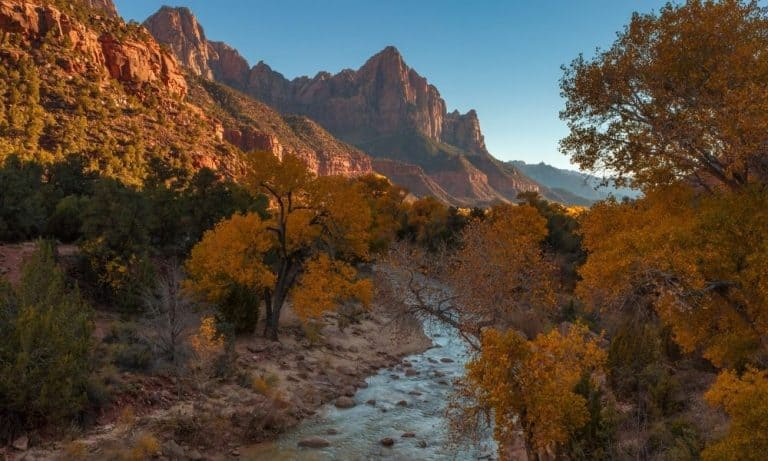 Visiting Zion National Park in October