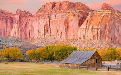 Capitol Reef National Park in the Fall