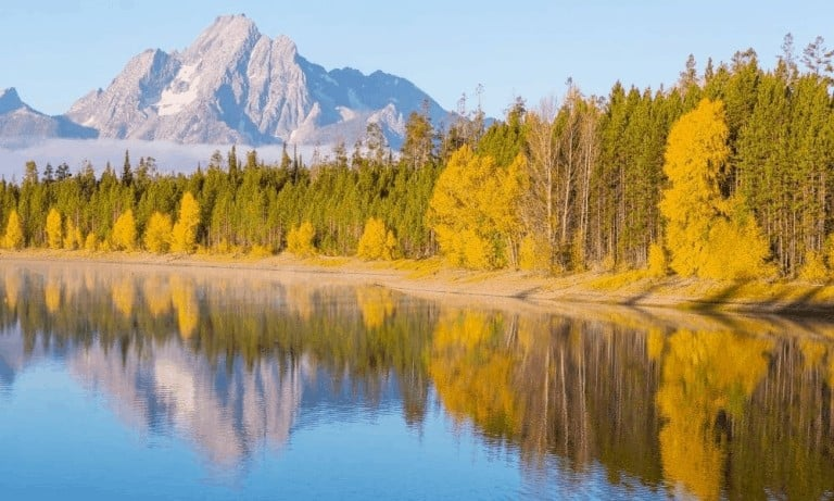 Visiting Grand Teton in October